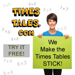 A great tool to help learn multiplication tables